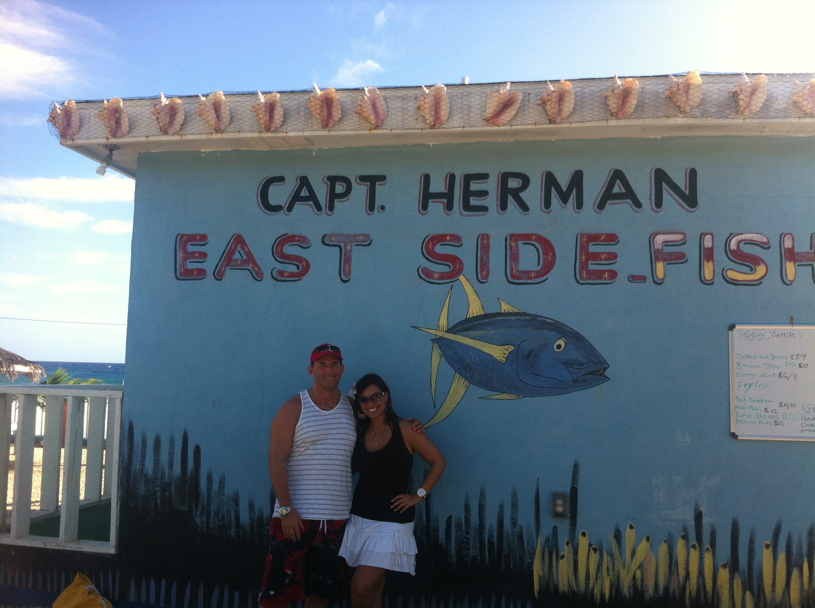 capt herman east side fish fry best things in cayman islands